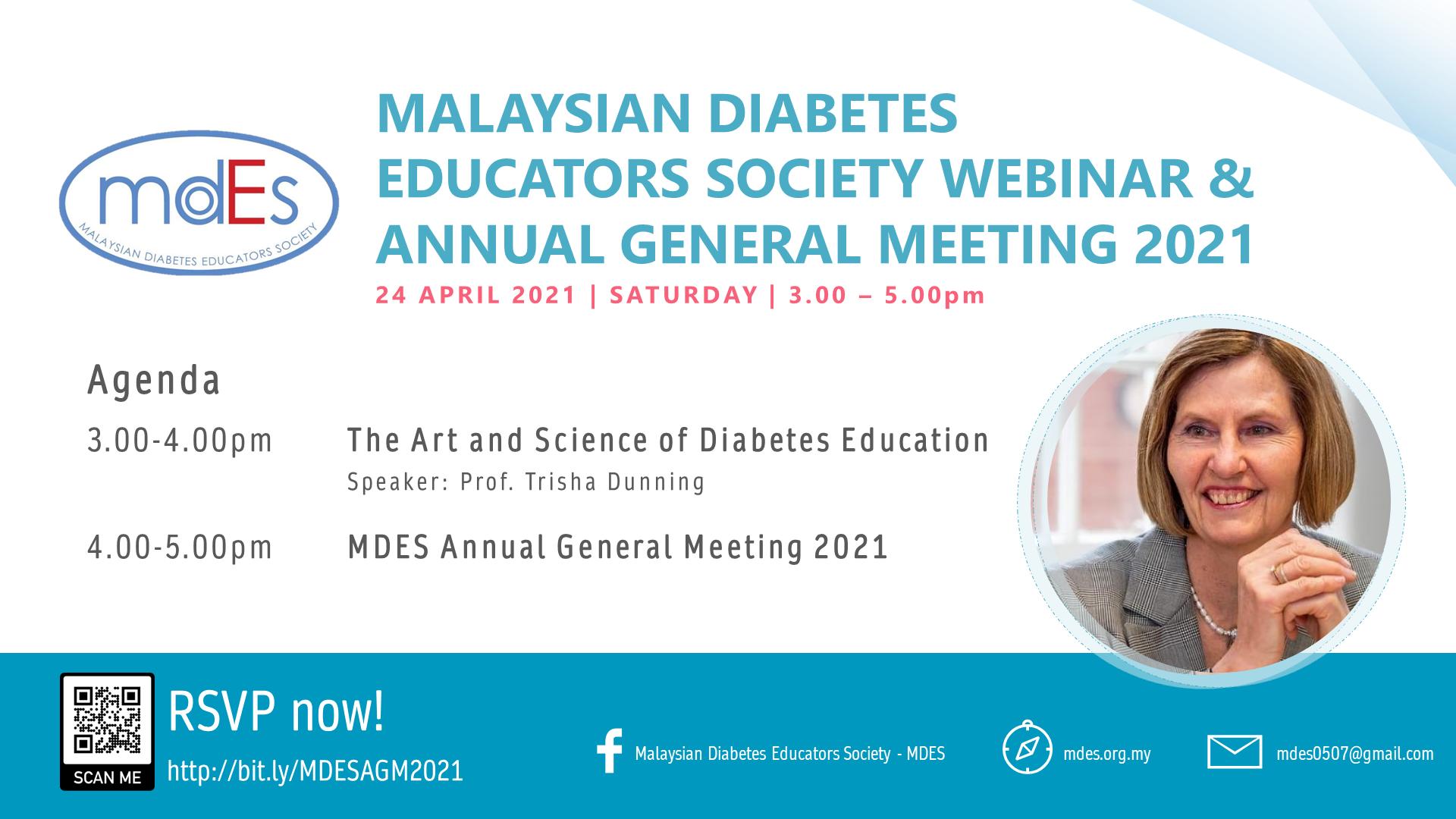 MDES Webinar cum 2021 Annual General Meeting